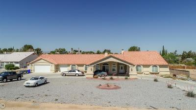 Apple Valley Single Family Home For Sale: 15580 Chole Road
