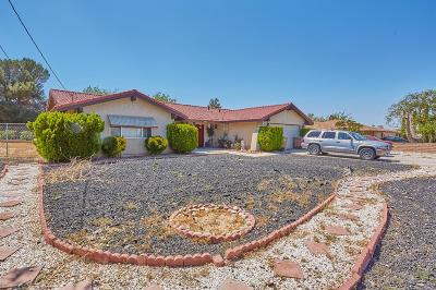 Hesperia Single Family Home For Sale: 9930 Cottonwood Avenue