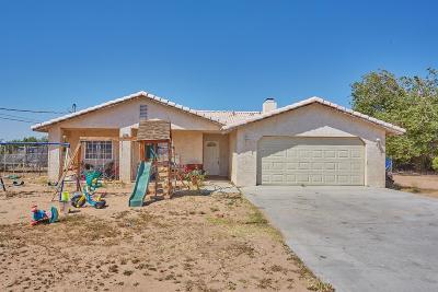 Hesperia Single Family Home For Sale: 16330 Palm Street