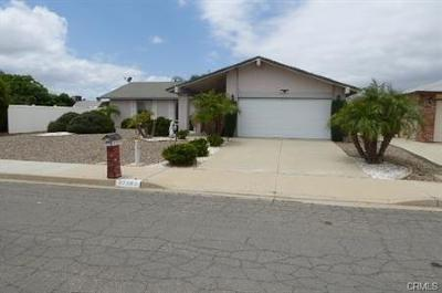 Single Family Home For Sale: 27263 Embassy Street