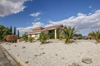 Victorville Single Family Home For Sale: 18560 Kalin Ranch Road