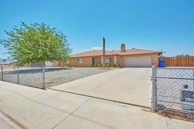 Apple Valley Single Family Home For Sale: 13346 Joshua Road