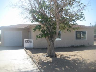 Barstow Single Family Home For Sale: 34723 Birch Road