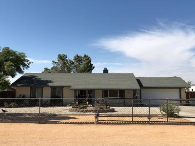 Apple Valley Single Family Home For Sale: 22274 Lone Eagle Road