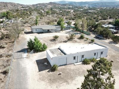 Pinon Hills Single Family Home For Sale: 3091 Sunnyslope Road