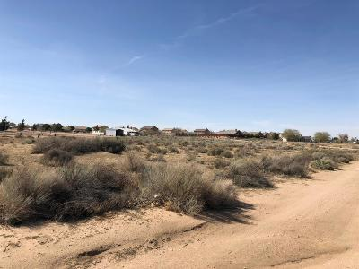 Hesperia Residential Lots & Land For Sale: Sage Street