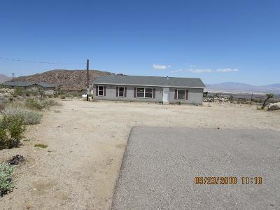 Lucerne Valley Single Family Home For Sale: 32254 Spinel Road