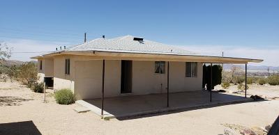 Lucerne Valley Single Family Home For Sale: 7701 Camp Rock Road
