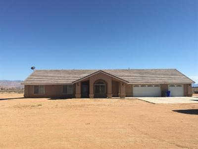 Apple Valley Single Family Home For Sale: 23085 Keator Road