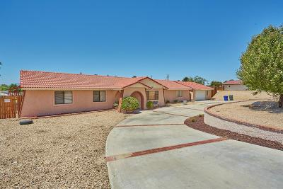 Apple Valley Single Family Home For Sale: 15086 Tuscola Road