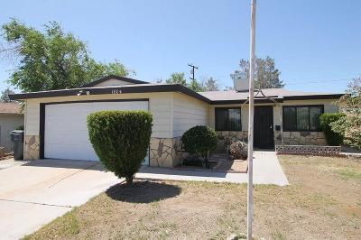 Barstow Single Family Home For Sale: 1804 Sunset Street #92311