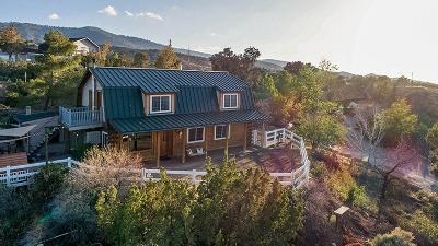 Pinon Hills Single Family Home For Sale: 8738 Wintergreen Road