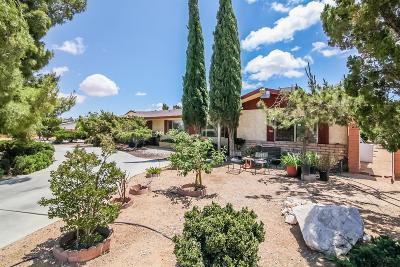 Hesperia Single Family Home For Sale: 17759 Fresno Street
