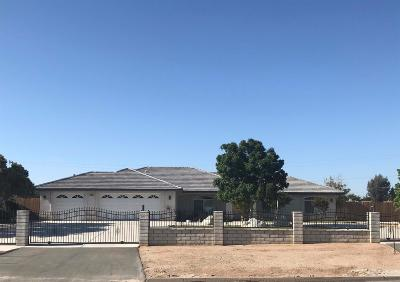 Victorville Single Family Home For Sale: 15115 Dos Palmas Road