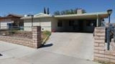Barstow Single Family Home For Sale: 1729 Sunrise Road