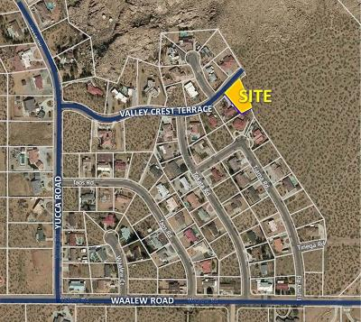 Apple Valley Residential Lots & Land For Sale: Valley Crest Terrace