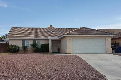 Barstow Single Family Home For Sale: 451 Silverado Street