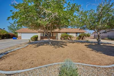 Apple Valley Single Family Home For Sale: 11790 Pasco Road