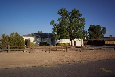 Apple Valley Single Family Home For Sale: 13537 Pauhaska Road