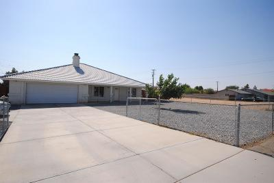 Apple Valley Single Family Home For Sale: 13474 Navajo Road
