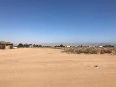 Hesperia Residential Lots & Land For Sale: Perris Street