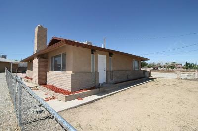 Barstow Single Family Home For Sale: 28029 Panamint Road