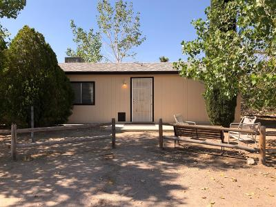 Lucerne Valley Single Family Home For Sale: 32435 Morse Lane