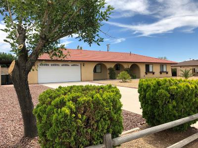 Apple Valley Single Family Home For Sale: 20045 Sahale Road