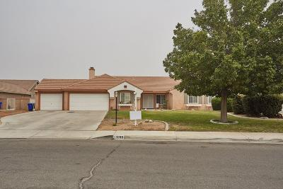 Apple Valley Single Family Home For Sale: 13080 Lompoc Road