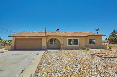 Hesperia Single Family Home For Sale: 14579 Juniper Street