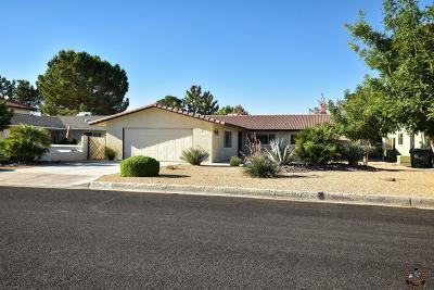 Helendale Single Family Home For Sale: 15185 Tournament Drive