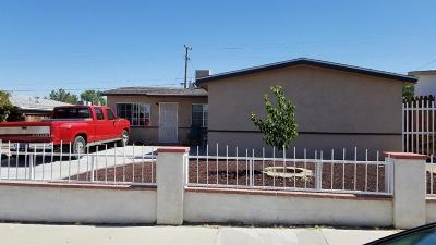 Barstow Single Family Home For Sale: 1824 Sunrise Road
