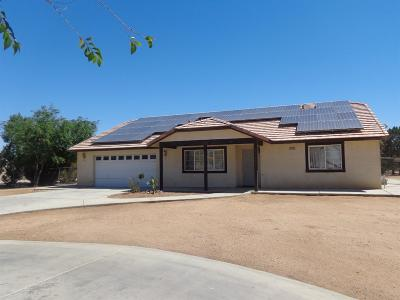 Apple Valley Single Family Home For Sale: 21140 Us Highway 18