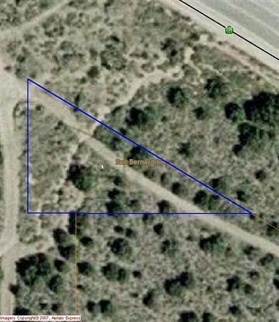 Pinon Hills Residential Lots & Land For Sale: Highway 138 Highway
