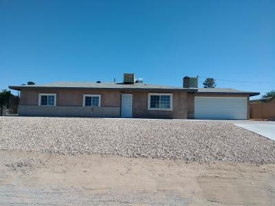 Barstow Single Family Home For Sale: 27991 Cochise Avenue