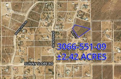 Phelan Residential Lots & Land For Sale: Kelly Court
