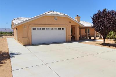 Apple Valley Single Family Home For Sale: 23745 Pala Lane