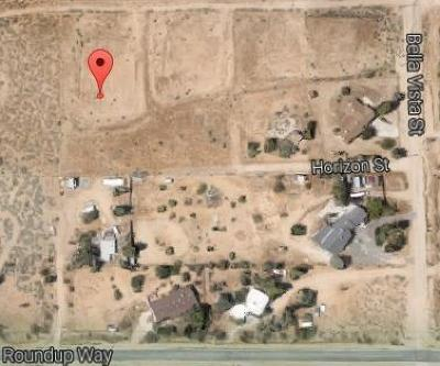 Apple Valley Residential Lots & Land For Sale: Bella Vista Road