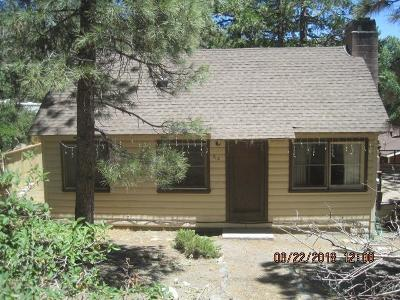 Wrightwood Single Family Home For Sale: 712 Lark Drive