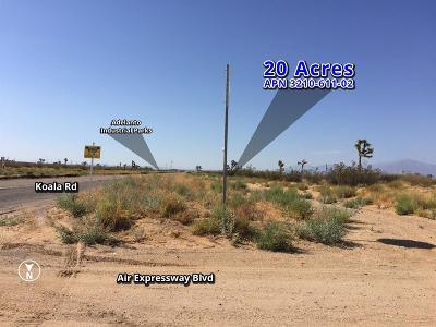 Adelanto Commercial Lots & Land For Sale: Koala Road