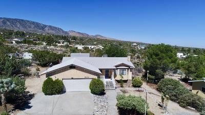 Pinon Hills Single Family Home For Sale: 9824 Mountain Road