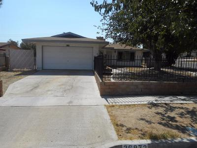 Barstow Single Family Home For Sale: 36872 Colby Avenue