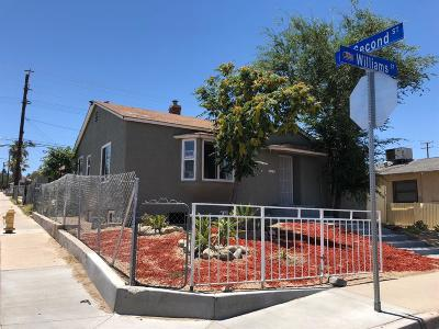 Barstow Single Family Home For Sale: 128 E Williams Street
