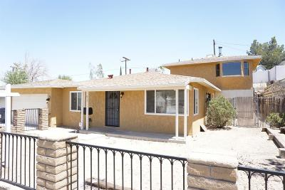 Barstow Single Family Home For Sale: 817 Caliente Drive