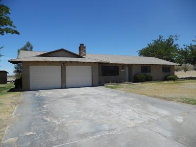 Helendale Single Family Home For Sale: 15540 Bryman Road