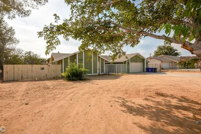 Apple Valley Single Family Home For Sale: 11935 Running Deer Road
