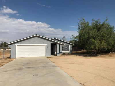 Apple Valley Single Family Home For Sale: 11565 Saratoga Road