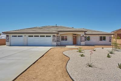 Apple Valley Single Family Home For Sale: 19709 Tomahawk Road