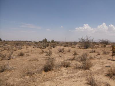 Phelan Residential Lots & Land For Sale: Seventh Street