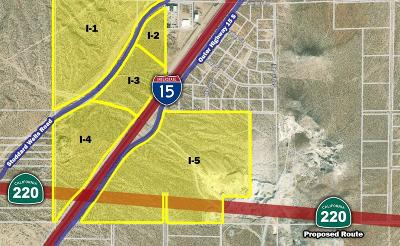 Apple Valley Residential Lots & Land For Sale: Interstate 15